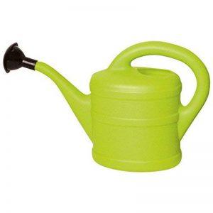 Gardens2you 1L Petit Arrosoir en Plastique pour Enfants avec Pomme d'Arrosoir - Vert Citron de la marque Gardens2you image 0 produit