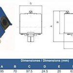 'genebre val-ge–Pressostat 1/4p. Maximo–8kg différentiel fixe 2kg de la marque Genebre image 1 produit