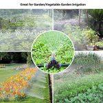 Gesentur® Irrigation pour Jardin - 8 Mètres Système d'arrosage avec 9 Pcs Buses Pour Irrigation Arrosage Brumisation Jardin Serre Misting Nozzle - Noir de la marque Gesentur image 4 produit