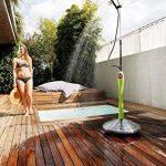 GF 80005524 Douche de jardin solaire Sunny Style Premium avec douchette et accessoires - Vert de la marque GF image 4 produit