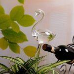 Globe d'arrosage Automatique, Gosear Cygne en Forme D'auto-arrosage Globe, Petite Plante Arrosage Automatique Ampoules de Verre de la marque Gosear image 3 produit