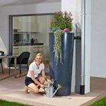 Graf - Récupérateur d\'eau et bac à plantes Stone 350 L Lava de la marque Garantia image 1 produit