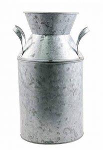 Grand Pot Lait Zinc Poignées 33cm de la marque Chaks image 0 produit