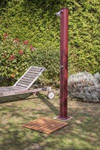 Gre SSB40 Base de douche aspect bois, Marron, 60 x 60 x 3 cm de la marque Gre image 0 produit