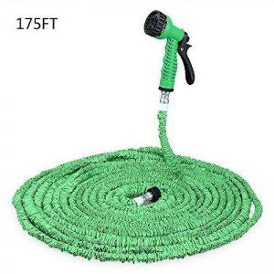 Greendream Tuyau d'arrosage Extensible Jusqu'à 3 Fois Flexible Rétractable Jardin Pipe avec 7 Fonction Pistolet –50m - Vert de la marque Greendream image 0 produit