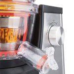 H.Koenig GSX22 Extracteur de jus vertical Vitalice 1L, sans BPA, 3 tamis pour jus fin ou épais et sorbet, pression douce, bec d'introduction large de la marque H-Koenig image 5 produit