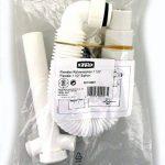Hama Xavax Siphon Tube Flexible pour Évier, lave-linge et lave-vaisselle, 1 1/2 Pouces, Raccordements Siphon-appareil 1 Pouce (2,54 cm) et deux Fermetures Anti-odeurs de la marque Hama image 1 produit
