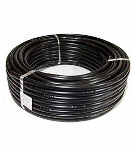 HidroRain GOT T30N–Tuyau goutte à goutte 16mm, goutteurs turbulents chaque 33cm, bobine de 100mètres, couleur noire de la marque HidroRain image 0 produit