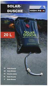 High Peak Douche solaire Noir 20 L de la marque High Peak image 0 produit