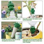 HIMM plante, vacances en céramique d'arrosage automatique pour plantes Pointes, système de fleur et Piquets d'arrosage de goutte automatique pour une utilisation intérieure et extérieure par 4 pièces de la marque HIMM image 1 produit