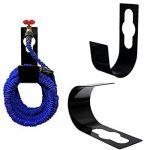 Hongci Noir en métal durable Spigot Crochet support de tuyau Tuyau d'arrosage support Cintre mural extensible Tuyau flexible de la marque HONGCI image 1 produit