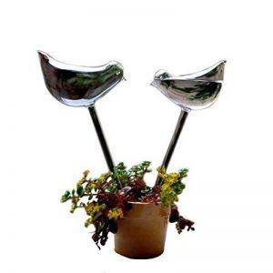 Hosaire 2X Créatif Boules d'irrigation en Forme d'Oiseaux Créatif Plante Arrosage Automatique-Transparent de la marque Hosaire image 0 produit