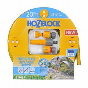 Hozelock 117021 Tricoflex Ultraflex Tuyau d'arrosage kit de démarrage Jaune 50 x 40 x 30 cm de la marque Hozelock image 0 produit
