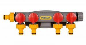 Hozelock 2150R0000 Raccord sélecteur à quatre circuits pour robinet de la marque Hozelock image 0 produit