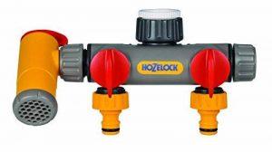 Hozelock 2250 0000 Raccord sélecteur à trois circuits Flowmax pour robinet de la marque Hozelock image 0 produit