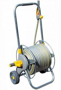 Hozelock 2436R0000 Dévidoir chariot métallique avec tuyau de 30 m de la marque Hozelock image 0 produit