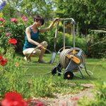 Hozelock 2436R0000 Dévidoir chariot métallique avec tuyau de 30 m de la marque Hozelock image 2 produit