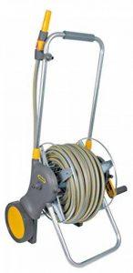 Hozelock 2456 0000 Dévidoir chariot métallique 60 m avec tuyau de 30 m de la marque Hozelock image 0 produit