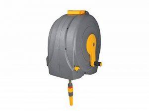 Hozelock 2496R0000 Dévidoir rapide Fast Reel à fixation murale avec tuyau de 40 m de la marque Hozelock image 0 produit