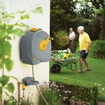 Hozelock 2496R0000 Dévidoir rapide Fast Reel à fixation murale avec tuyau de 40 m de la marque Hozelock image 1 produit