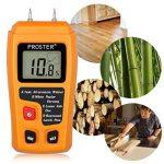 Humidimètre Bois RZMT-10 LCD Mesureur Numérique d'Humidité Instrument de Test d'Humidité de Bois Testeur Détecteur Outil pour Mesurer le Teneur d'Humidité pour Mur Papier Carton Bois de Chauffage Plâtre de la marque Proster image 4 produit