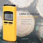 Humidimètre Numerique Précis à 4 Piques Sensible - Détecteur d'humidité Bois Large Écran LCD - Testeur Humidité dans Le Bois - Humidimetre Mesurer Matériaux en Bois Bûche Carton Bambou Parquet etc. de la marque FstDgte image 2 produit