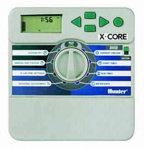 Hunter xc-401i–Programmateur d'arrosage à piles, 4saisons, pour intérieur de la marque Hunter image 0 produit