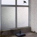 Hxss Film Static Film E verre Autocollant En PVC Transparent Et Autocollants Décoratifs Pour Windows Et Porte (Intimité Protection, anti UV) de la marque HXSS image 2 produit