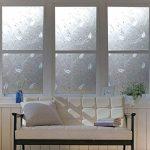Hxss Film Static Film E verre Autocollant En PVC Transparent Et Autocollants Décoratifs Pour Windows Et Porte (Intimité Protection, anti UV) de la marque HXSS image 1 produit