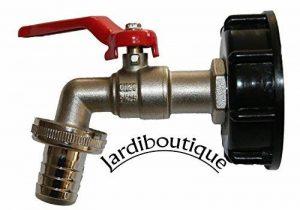 Jardiboutique Robinet laiton pour cuve IBC avec raccord écrou de (S60X6) de la marque Jardiboutique image 0 produit
