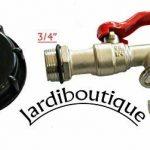 Jardiboutique Robinet laiton pour cuve IBC avec raccord écrou de (S60X6) de la marque Jardiboutique image 2 produit