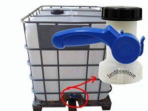 """jardiboutique Vanne robinet pour cuve IBC ou cuve 1000 litres 2""""/60 mm de la marque jardiboutique image 0 produit"""