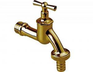 """jardin d'extérieur robinet raccord de tuyau robinet de bavette 3/4 """" laiton poli … de la marque Groshe image 0 produit"""