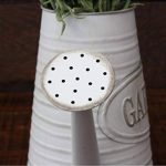 Jarra Regadera decorativa de metal para jardín Vintage color gris Flowers & Garden - Hogar y Mas de la marque Hogar y Mas image 3 produit