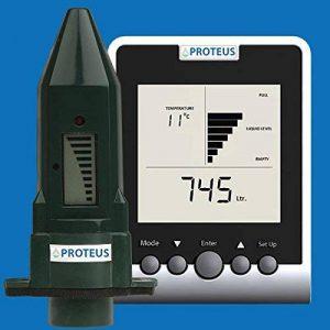 Jauge niveau ultrasonique pour cuves d'eau de pluies, à écran emetteur radio - EcoMeter S PLUS concu pour réservoirs souterrains et zones radio mortes avec une antenne optionnelle externe de la marque Proteus image 0 produit