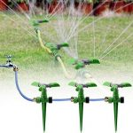 KING DO WAY Arroseur Rotatif sur Pic Automatique Arrosage Irrigation pour Gazon Pelouse Jardin Vert de la marque KING DO WAY image 6 produit