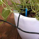 KING DO WAY Kit d'arrosage Goutte à Goutte, Kits d'irrigation Système d'Arrosage DIY pour Jardin Serre (10 Mètres Tuyau avec 15 Compte-Gouttes Bleu) de la marque KING DO WAY image 4 produit