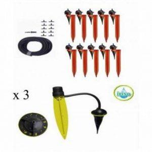 kit Duo MAX Iriso 1 kit 10 avec supports + 3 Pieds goutteurs de la marque IRISO image 0 produit
