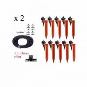 Kit réserve 20 Goutteurs Iriso avec supports + 1 robinet Offert de la marque IRISO image 0 produit
