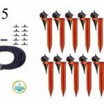 Kit réserve 50 Goutteurs Iriso avec supports + 1 réserve 12L offerte de la marque IRISO image 6 produit