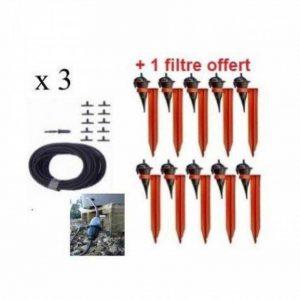 Kit réserve 30 Goutteurs Iriso avec supports + 1 filtre Offert de la marque IRISO image 0 produit