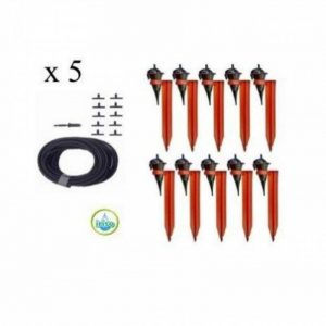 Kit réserve 50 Goutteurs Iriso avec supports + 1 réserve 12L offerte de la marque IRISO image 0 produit