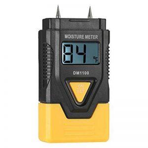 KKmoon Mini 3 en 1 LCD Numérique Bois Matériaux de Construction Humidimètre Humidité Testeur Détecteur avec Mesure de Température ambiante de la marque KKmoon image 0 produit