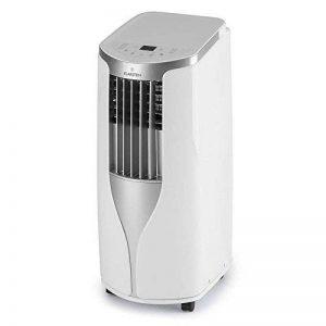 Klarstein New Breeze 7 • Climatisation • Climatiseur • Ventilateur • 7000 BTU/h • 2,6 kW • De 16 à 30 ° C • Classe A • Tuyau d'évacuation inclus • Télécommande • Écran LCD • Roues incluses • blanche de la marque Klarstein image 0 produit