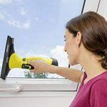 Kärcher Nettoyeur de fenêtres WV 5 Premium, lave-vitre sans fil compact à batterie amovible, avec pulvérisateur, 2 raclettes et concentré de nettoyage/détergent de la marque Karcher image 1 produit