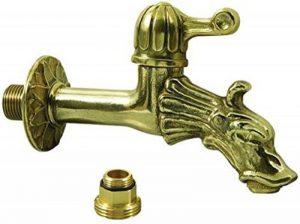 """L'Artistica 77432-10 Robinet de fontaine en laiton tête de dragon 1/2"""" de la marque L'Artistica image 0 produit"""