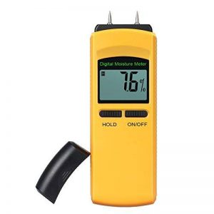 L'humidité compteur, neoteck Humidimètre numérique 4broches testeur d'humidité détecteur d'humidité, l'humidité de mesure pour mur en bois béton Plâtre Brique en fibre de verre caravanes Bateaux et d'autres matériaux de la marque Neoteck image 0 produit