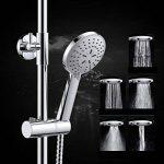 La douche douche douche température smart set 5 sous réserve de cuivre raffiné robinet mural de poche de la marque image 3 produit