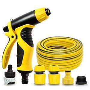 Lavage de voiture d'appui d'eau haute pression Buse de tuyau d'arrosage outils de voiture machine Home Lot de pinceaux de la marque Car wash tools image 0 produit