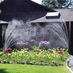 LeRan Jardin arroseur Tuyau Rotatif Réglable Arrosage Irrigation Mobile Jardinière Pulvérisateur avec 12 Pipes de la marque LeRan image 1 produit